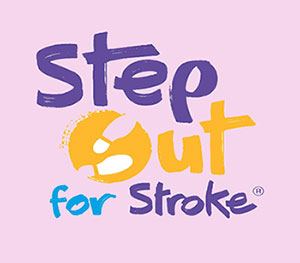 Step Out For Stroke Stroke Association Sign